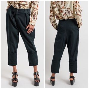 Gary Graham Large Cuffed Denim Pants